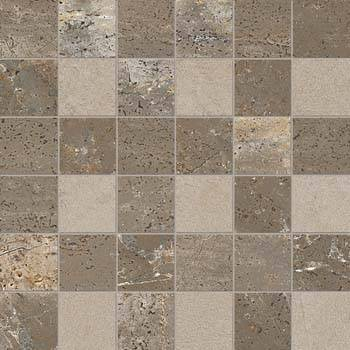 Dove Grey Mosaic