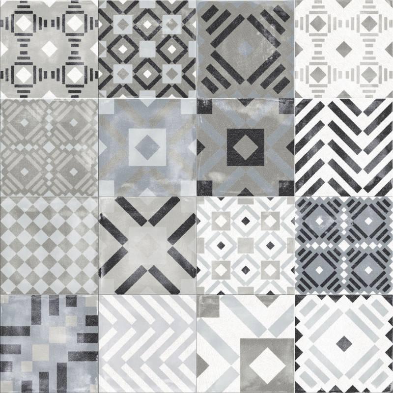 Labyrinth Mixed Grey