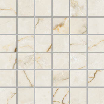 Ivory Cream Mosaic